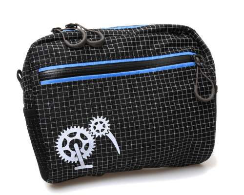 ROBO-KIWI Bikepacking Handlebar Bags - Cafe Bag - black / blue