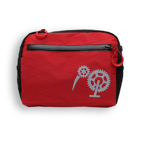 ROBO-KIWI Bikepacking Handlebar Bags - Cafe Bag XP - red (1)