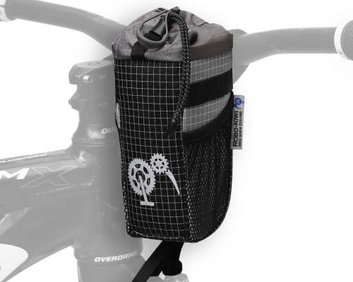 ROBO-KIWI Bikepacking Stem Bags - Goodie Bag DGS - steel