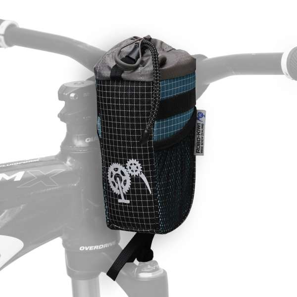 ROBO-KIWI Bikepacking Stem Bags - Goodie Bag DGS - moroccan blue (3)