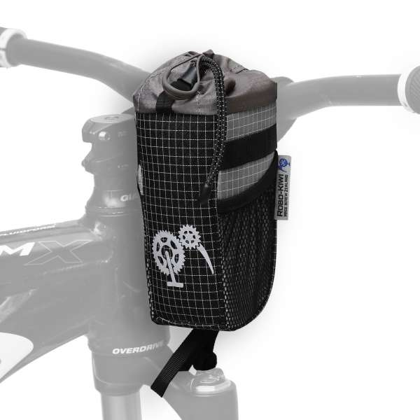ROBO-KIWI Bikepacking Stem Bags - Goodie Bag DGS - steel (1)