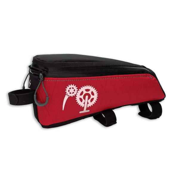 ROBO-KIWI Bikepacking Top Tube Bags - Cockpit Bag XP - regular, red (2)