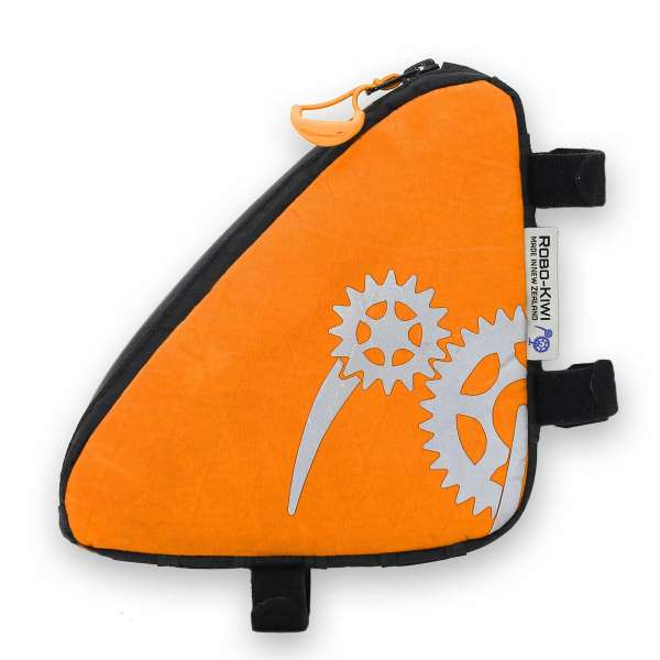 ROBO-KIWI Bikepacking Top Tube Bags - Macgyver Bag XP - storm orange (4)
