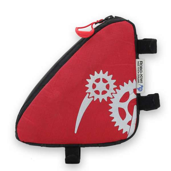 ROBO-KIWI Bikepacking Top Tube Bags - Macgyver Bag XP - red (2)